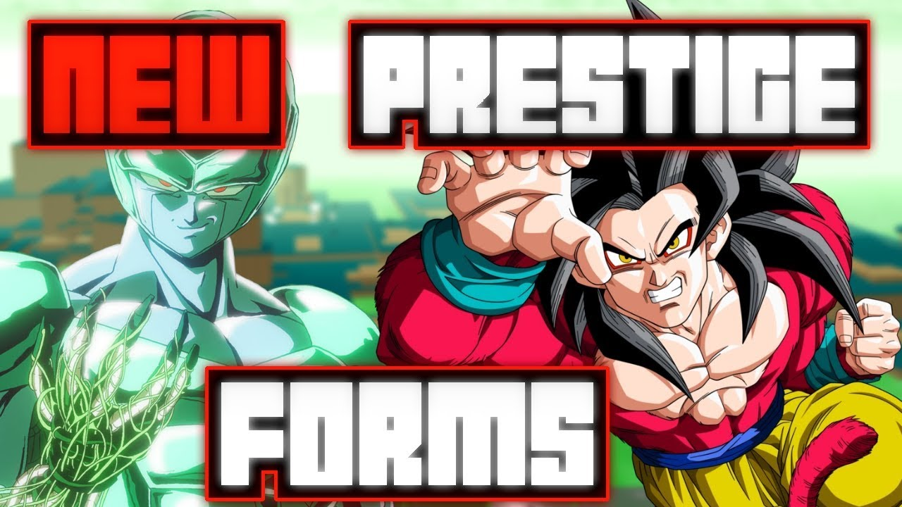new prestige forms in dragon ball z final stand roblox youtube