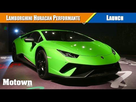 Lamborghini Huracan Performante | Launch & Price | Motown India