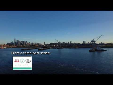 A Drone Tour of Red Hook, Brooklyn