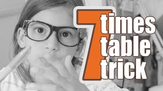 7 Times Table Trick • The Quick Brown Fox