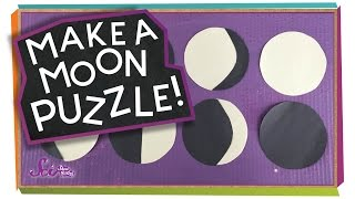 Make a Moon Puzzle! #sciencegoals