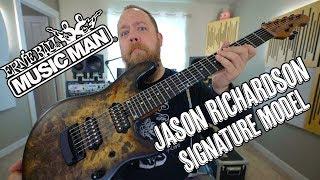 Music Man Jason Richardson Signature Cutlass - Demo