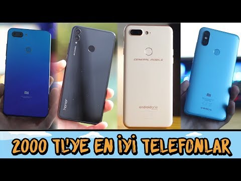 2000 TL ALTINA ALINABİLECEK EN İYİ TELEFONLAR - 2019 OCAK