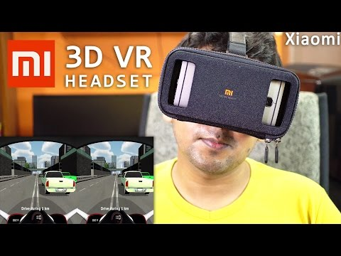 Xiaomi Mi VR Play Headset Unboxing And Review With Gameplay! (4K)