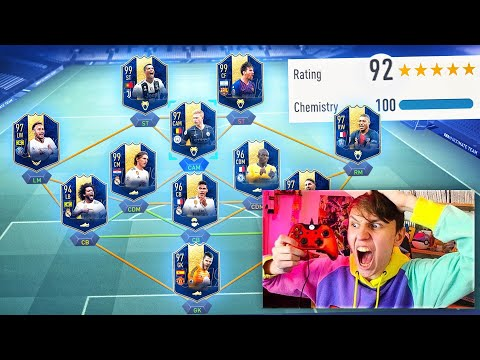 192 RATED!! - FIFA 19 Full TOTY Fut Draft Challenge!