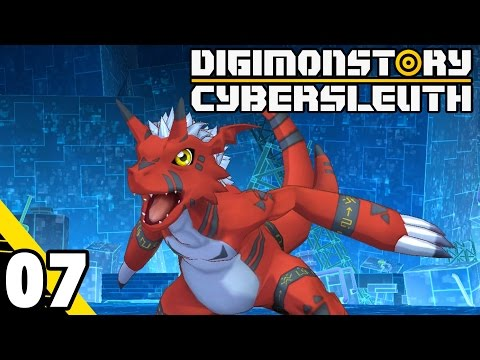 Digimon Story: Cyber Sleuth Part 7 Growlmon Boss! PS4 Gameplay Walkthrough