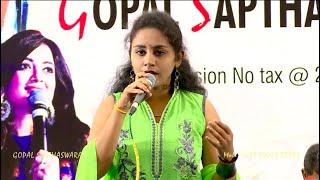 Cover images I - Pookkalae Sattru Oyivedungal - Live Orchestra | Ajay Krishna | Anusha | Gopal Sapthaswaram