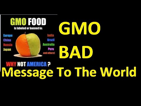 SHOCKING: GMO FOOD MESSAGE FROM WOODY HARRELSON THAT THE WORLD NEEDS TO HEAR!