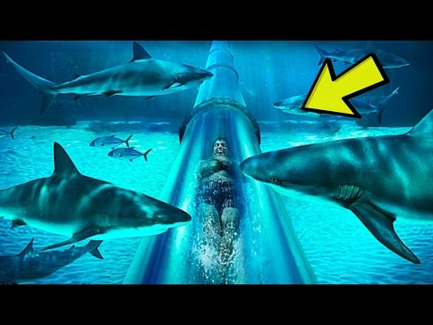 Top 5 Most INSANE Waterslides YOU WON'T BELIEVE EXIST!