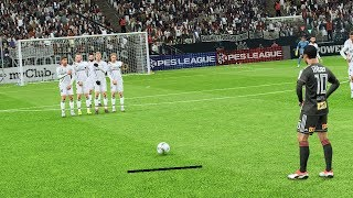 PES 2019 - Free Kick Compilation #8 HD PS4 PRO