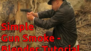 Simple Gun Smoke - Blender Tutorial