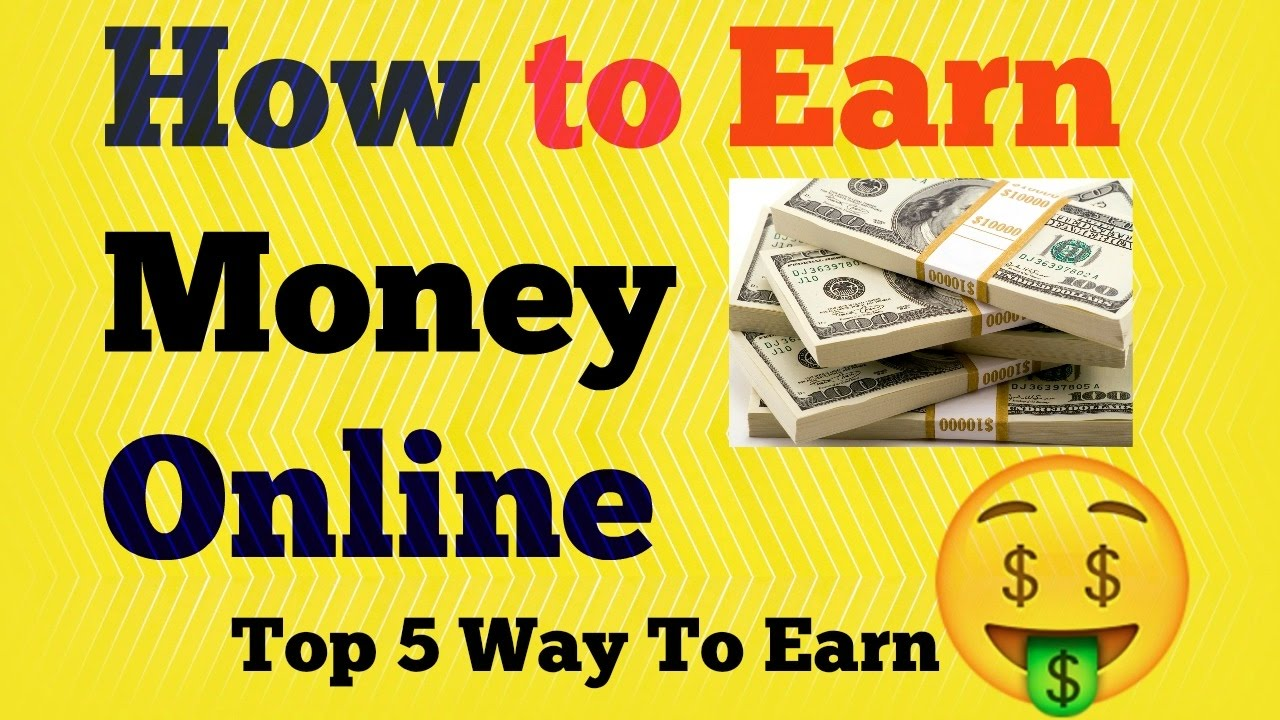 How To Earn Money From Online Work {hindi}  Online Paise Kamaye In 5  Tariko Se Without Investment