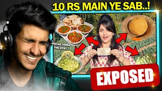 Living on Rs 10 for 24 HOURS Challenge | Food Challenge Exposed !!