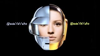 Ellie Goulding vs Daft Punk There