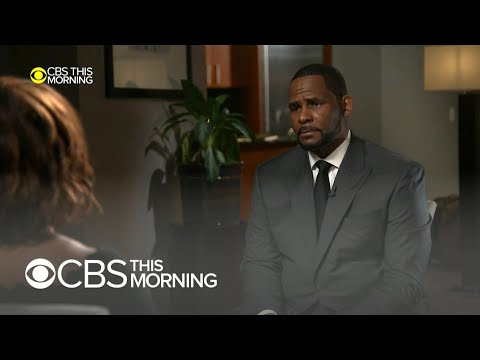 Sam and Ryan Show - R Kelly Explodes In CBS Morning Interview Amidst Allegations