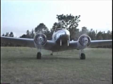 Lockheed 12 Flying
