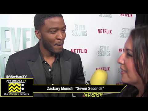 Zackary Momoh on Character Development at the Seven Seconds Neflix Premiere- Los Angeles