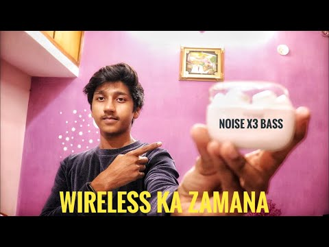 noise x3 bass wireless earbuds review 2019 hindi | apple airpods ka chota bhai 🔥