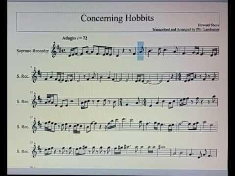 Concerning Hobbits