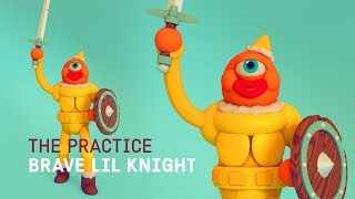Cyclops Knight Character Design // The Practice 84 thumbnail
