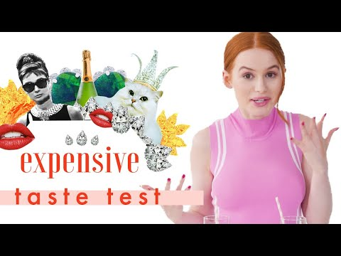 Oops, We Gave 'Riverdale's Madelaine Petsch Trust Issues 💎 | Expensive Taste Test | Cosmopolitan