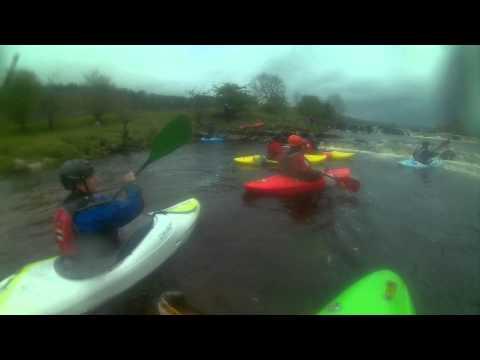Leeds Canoe Club River Wharfe Beginners Trip 10.05.15