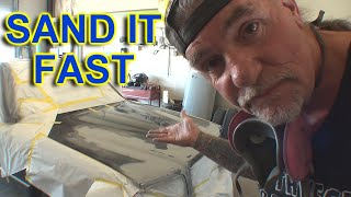 How Can I Sand A Car For Paint Really FAST? Paint And Body Tech Tips