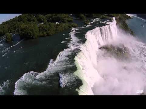 Flying Over Niagara Falls (with the DJI Phantom 2 Vision+)