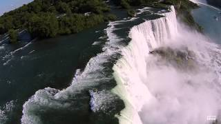 Flying Over Niagara Falls (with the DJI Phantom 2 Vision+)
