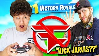 IF YOU LOSE FORTNITE, YOU'RE KICKED FROM FAZE (FaZe Jarvis)