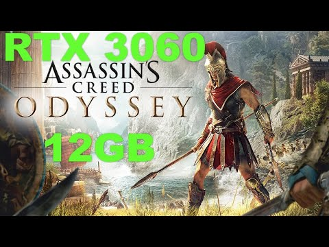 RTX 3060 12 GB | Assassins Creed Odyssey | 1080p, 1440p & 4K | Max Settings |