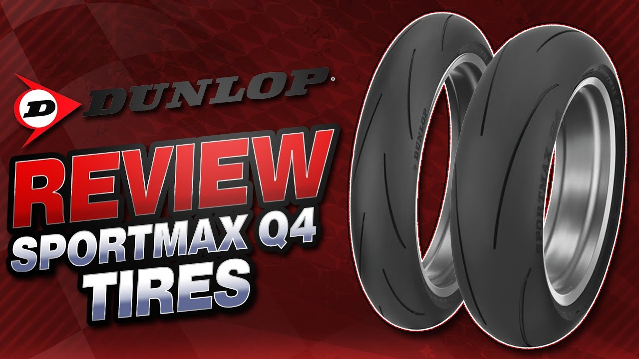 Dunlop Sportmax Q4 Tire Review Sportbiketrackgear Com Youtube