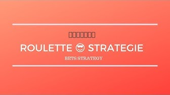 Roulette Strategie - Online Casino 🎰💰💰💰