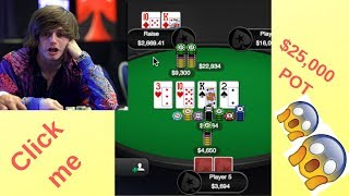 INSANE $25,000 POT + OTHER MADNESS - Epiphany Poker Hands Review