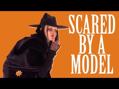 Model Ali Michael Scares New Yorkers In High-Fashion Halloween Costumes | W Magazine
