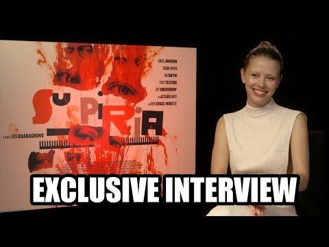 Mia Goth discusses SUSPIRIA 2018  Exclusive