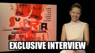 Mia Goth discusses SUSPIRIA (2018) - Exclusive Interview