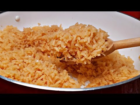 Easy Mexican Rice Recipe | How To Make Mexican Rice | Fluffy Mexican Rice