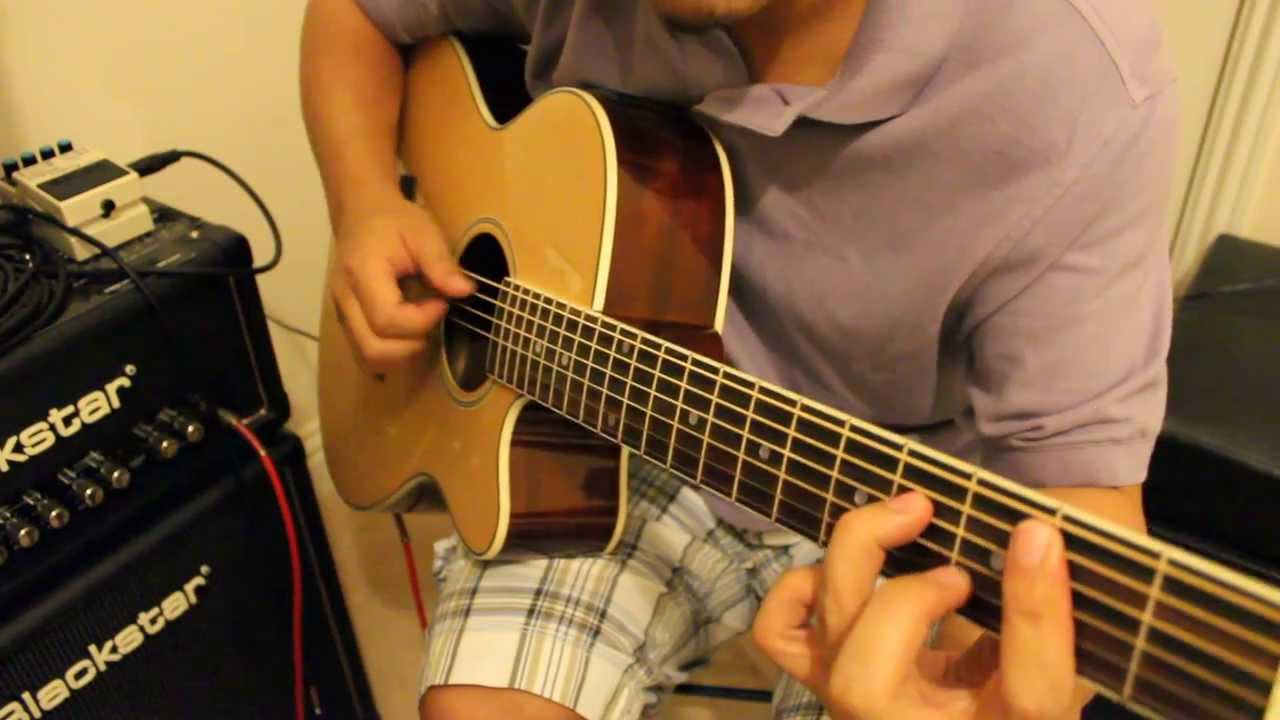 Better Days Solo Guitar Improv Cover By Jp Youtube