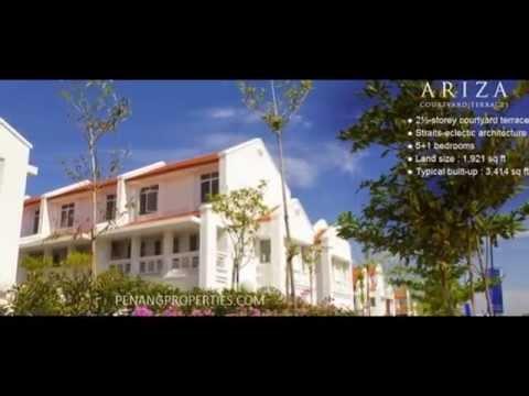 Penang E&O Seri Tanjung Pinang - Ariza landed terrace house