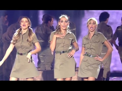 IDF songs at children
