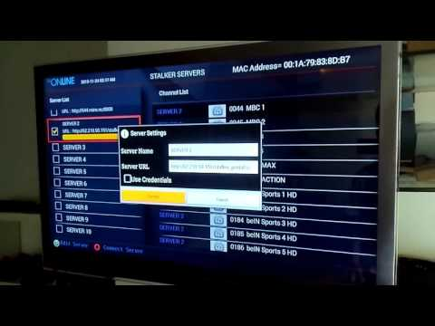 TV ONLINE -How to use IPTV Stalker Middleware in all ipremium boxes