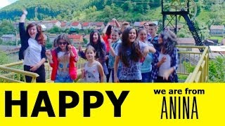 Pharrell Williams Happy - We are HAPPY in ANINA  [ROMANIA]