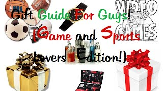 Gift Ideas For Him (game And Sports Lover!)