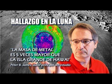 """""""Inesperado"""" hallazgo en la Luna de una masa de metal enterrada bajo la Cuenca Aitken Polo Sur"""