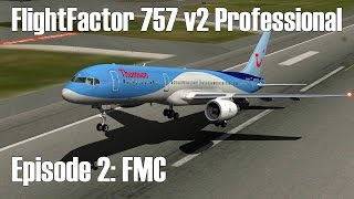 X-Plane 10/11 - FlightFactor 757 - FMC Setup