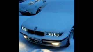 обзор BMW 7 series, тест-драйв BMW 728i, обслуживание.