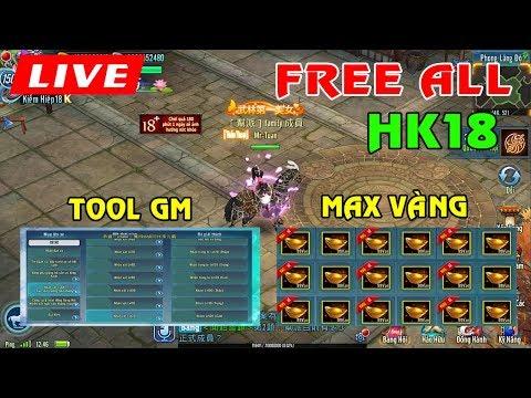 VLTK Mobile Lậu✓ Fre KH18, Tool Hack 1 Phát Lên Full Lực Chiến | JX AXH