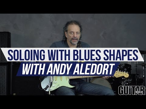 In Deep with Andy Aledort - Soloing with Blues Triad Shapes