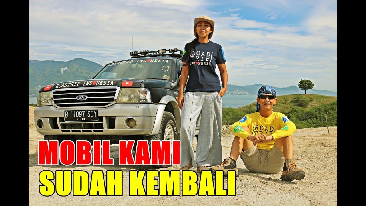 SETELAH GONTA GANTI MOBIL, SERULING SENJA SIAP MELANJUTKAN KELILING INDONESIA.